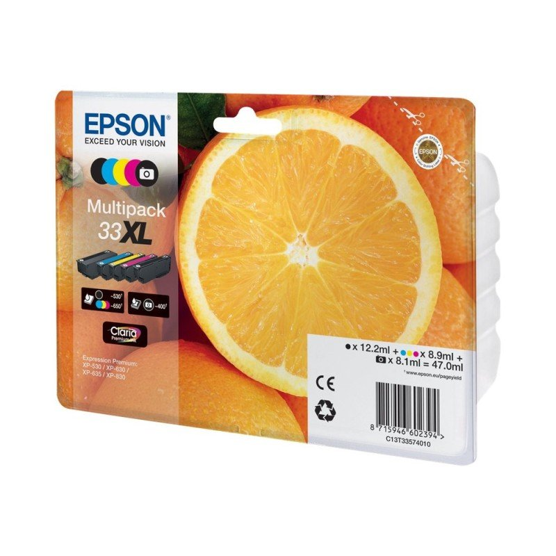 Ink/33XL Oranges CMYKPk
