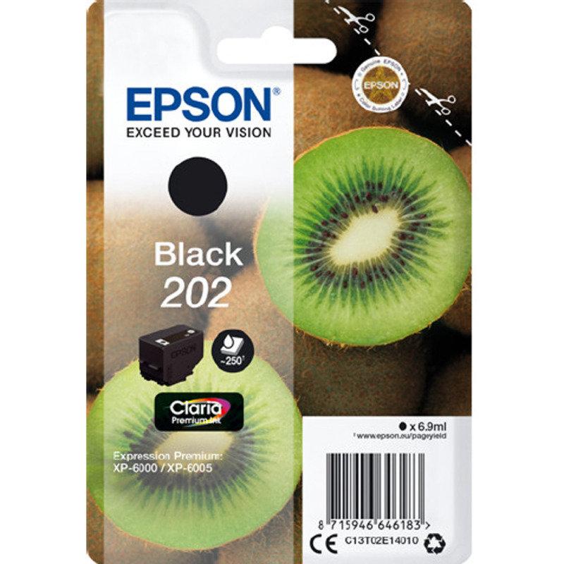 Epson Black 202 Claria Premium Ink
