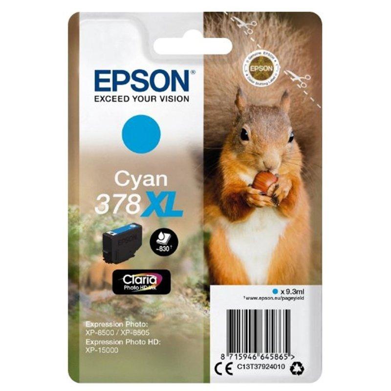 Epson 378XL Cyan Photo HD Inkjet Cartridge
