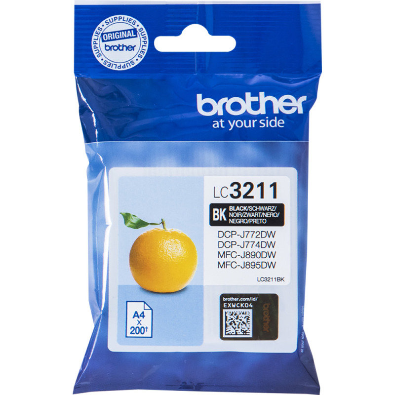 Brother LC3211BK Black Ink Cartridge