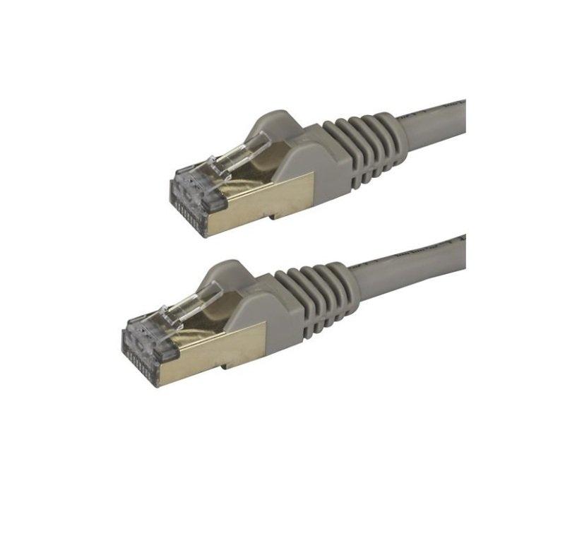 StarTech.com Cat6a 2M Grey Patch Cable STP