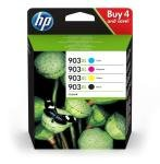 HP 903XL High Yield Multi Pack Ink Cartridge  - Black, Cyan, Magenta, Yellow