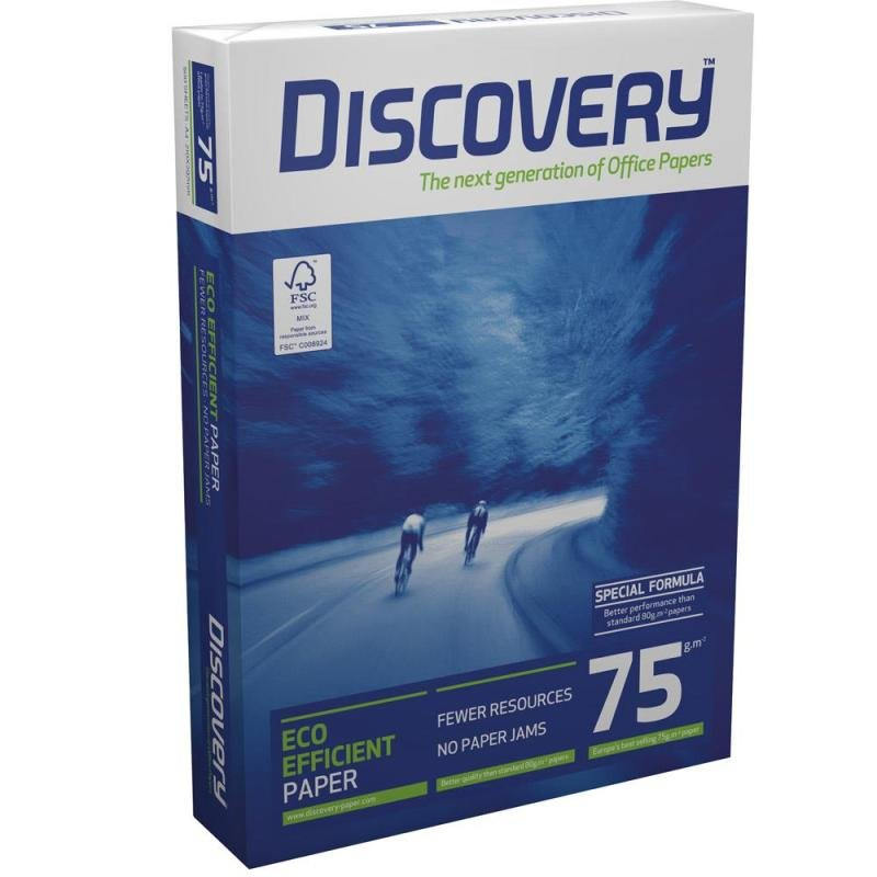 Image of Discovery (A3) Office Paper 75g/m2 (Box of 5 Reams)
