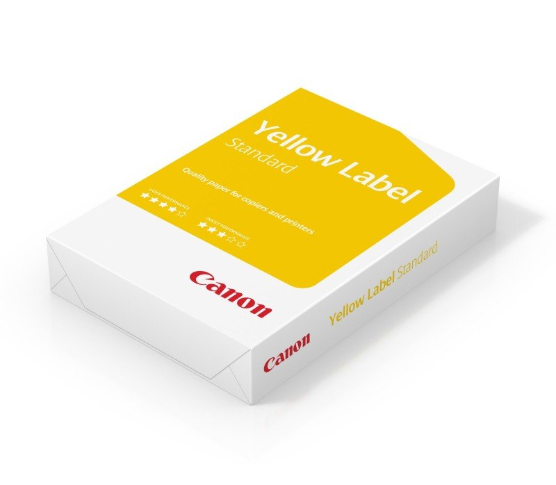 Canon Yellow Label (A4) 80g/m2 Paper (Box of 10 Reams)