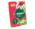 Rey Adagio (A3) 80g/m2 Paper Pink (500 Sheets)
