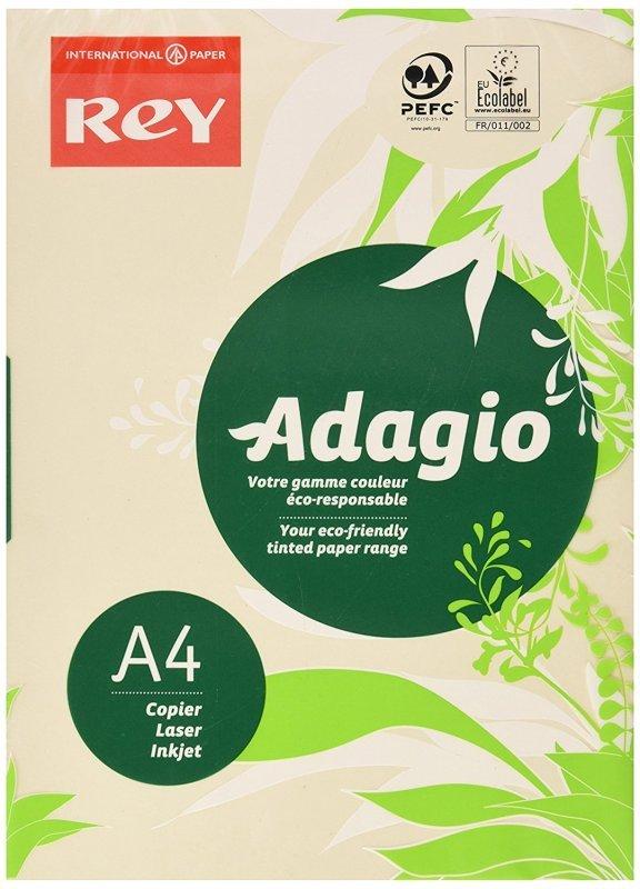Rey Adagio A4 Paper 80gsm Ivory Rm500