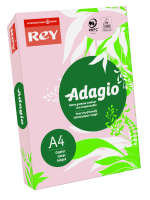 Rey Adagio A4 80gsm Pink (Ream 500 Sheets)