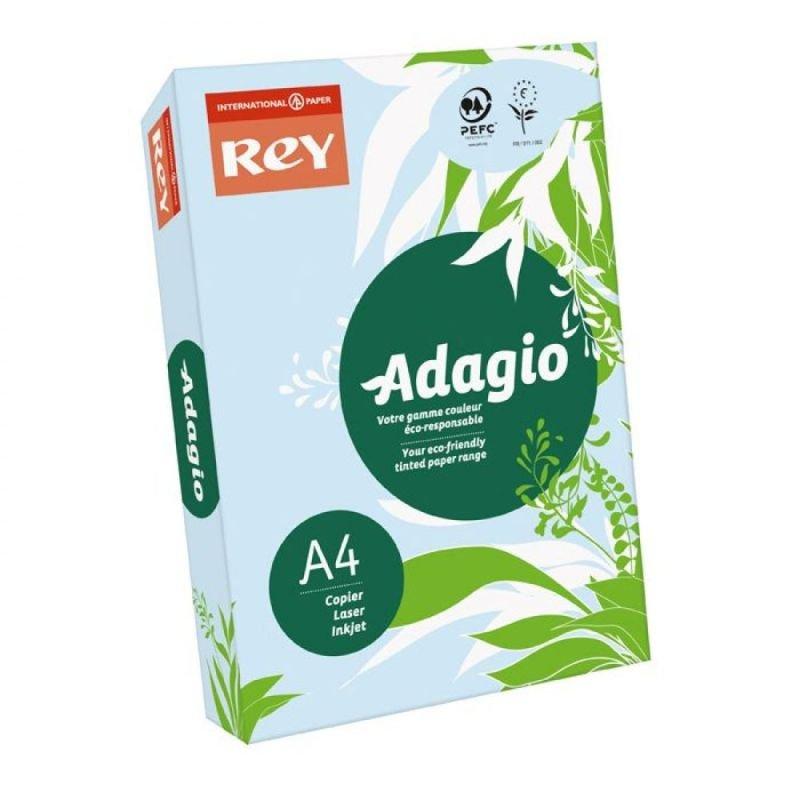 Rey Adagio A4 Paper 80gsm Blue Rm500
