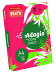 Rey Adagio A4 80gsm Deep Red (Ream 500 Sheets)