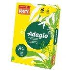 Rey Adagio A4 80gsm Deep Yellow (Ream 500 Sheets)