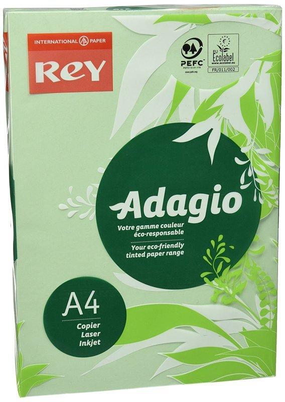 Rey Adagio A4 Paper 80gsm Deep Green Rm500