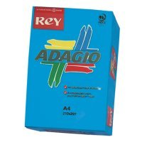 Rey Adagio A4 80gsm Deep Blue (Ream 500 Sheets)