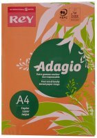 Rey Adagio A4 Paper 80gsm Deep Orange Rm500