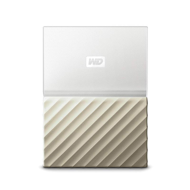 WD 2 TB My Passport Ultra Portable Hard Drive - White/G