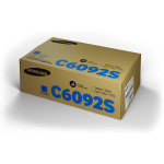 Samsung	CLT-C6092S Cyan Original Toner Cartridge - Standard Yield 7000 Pages - SU082A