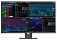 EXDISPLAY Dell 43 UltraHD Monitor P4317Q 108cm (42.5) VGA 2xHDMI/MHL DP mDP Audio Out Black UK 3 Year Advanced Exchange