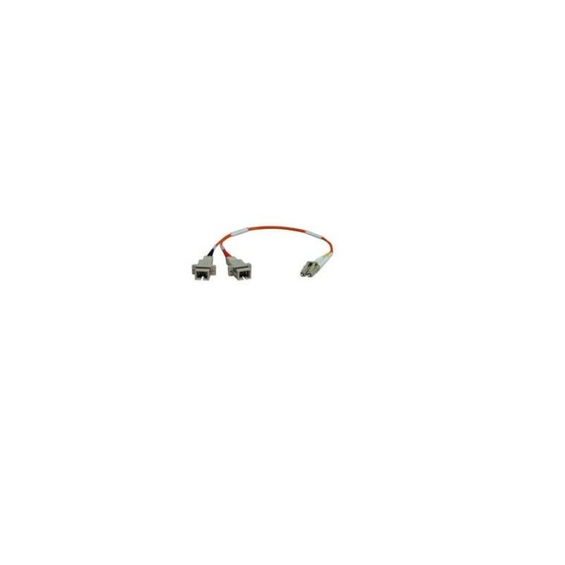 Duplex Multimode 62.5/125 Fiber Adapter (LC-SC M/F) 0.3M (1-ft.)