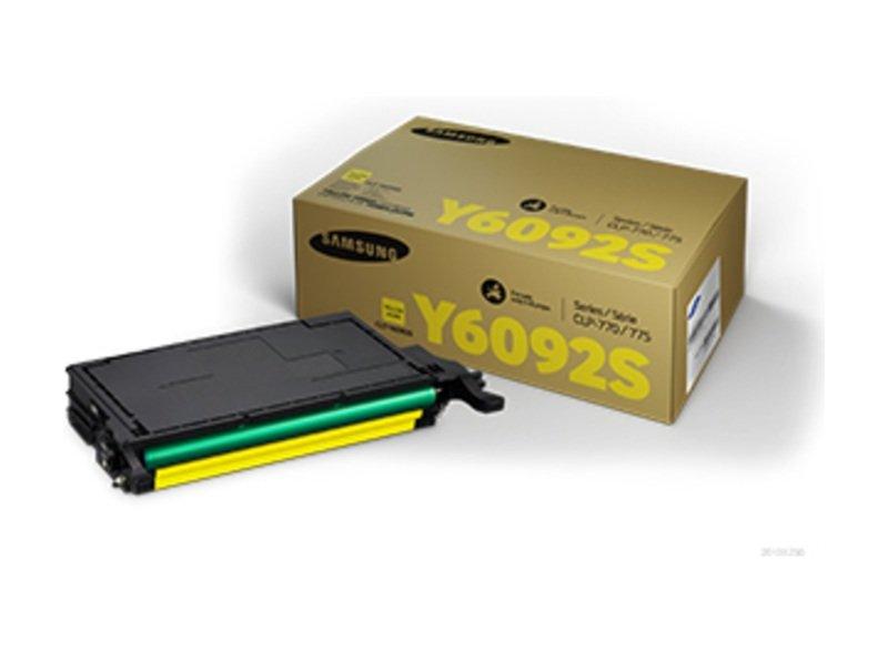 SamsungCLT-Y6092S Yellow OriginalToner Cartridge - Standard Yield 7000 Pages - SU559A