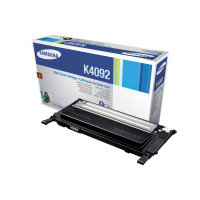 Samsung	CLT-K4092S Black Original Toner Cartridge - Standard Yield 1500 Pages - SU138A