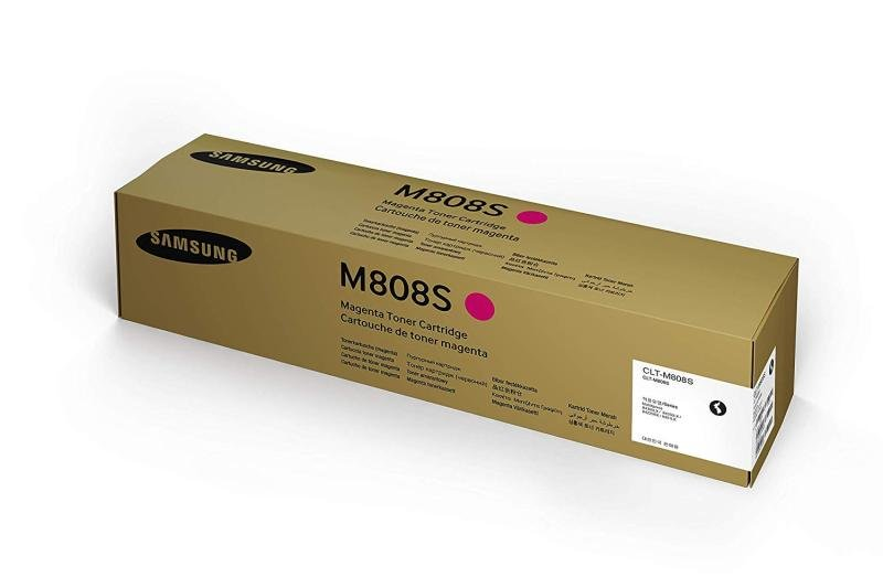 Samsung	CLT-M804S Magenta Original Toner Cartridge - Standard Yield 15000 Pages - SS628A