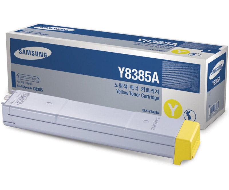 HP CLX-Y8385A Yellow Toner Cartridge SU632A