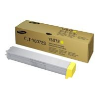 Samsung	CLT-Y6072S Yellow Original Toner Cartridge - Standard Yield 15000 Pages - SS712A