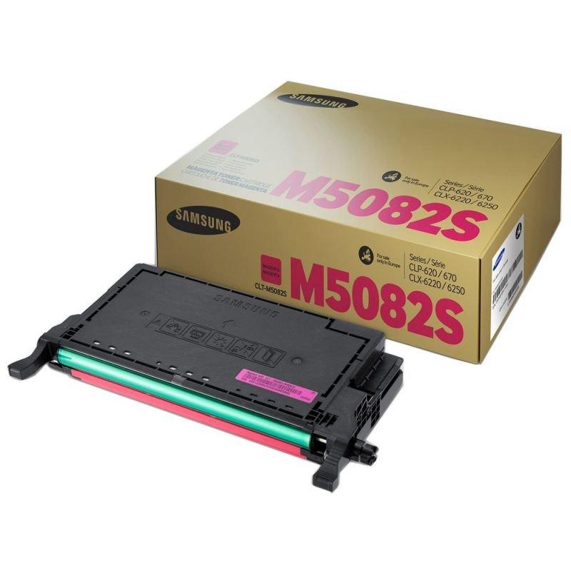 SamsungCLT-M5082S Magenta OriginalToner Cartridge - Standard Yield 2000 Pages - SU323A