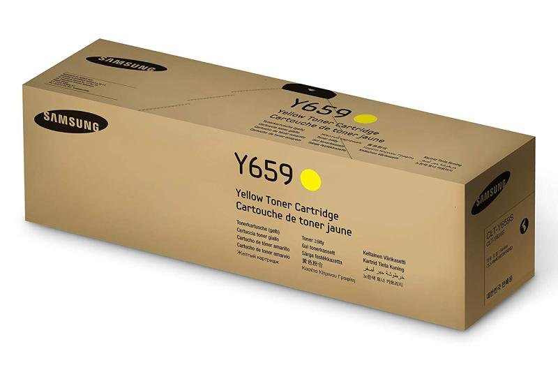 SamsungCLT-Y659S Yellow OriginalToner Cartridge - Standard Yield20000 Pages - SU570A