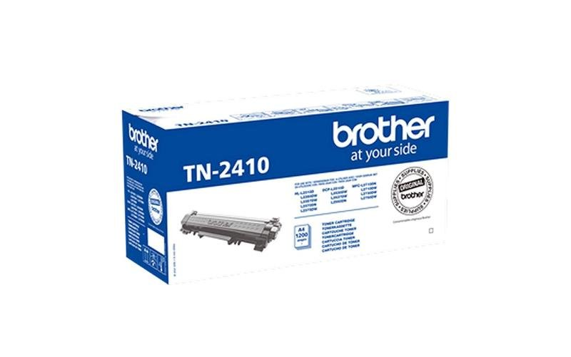 Brother TN-2410 Black Toner Cartridge - 1,200 pages