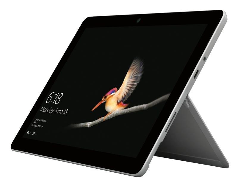 """Microsoft Surface Go Intel Pentium 4GB 64GB eMMC 10"""" Windows 10 Pro - Platinum"""