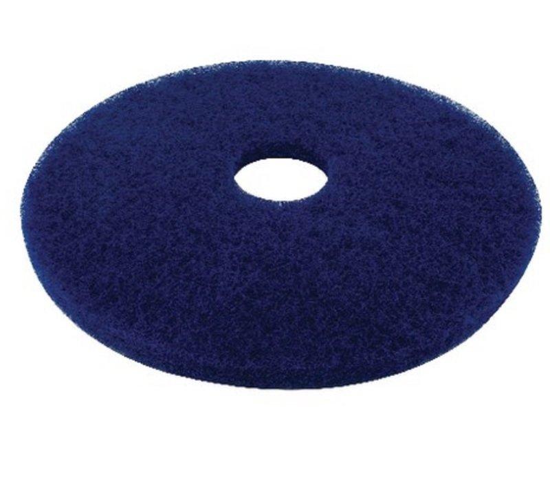 Image of Contico 17in Blue Floor Pads 5 Per Case
