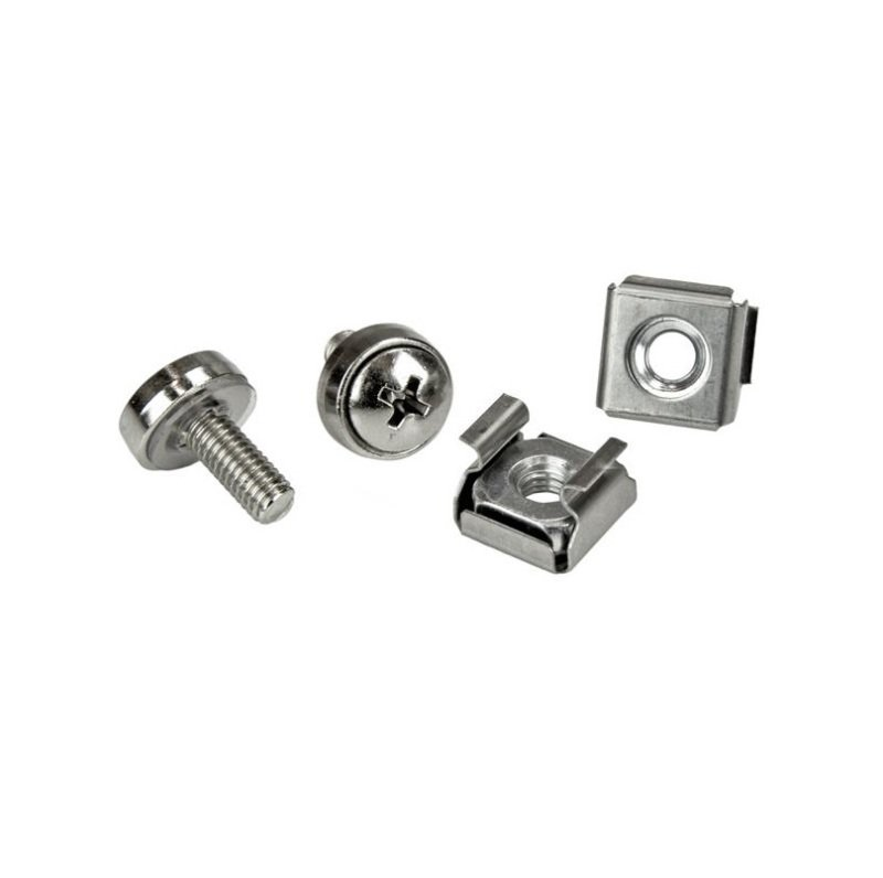 StarTech.com M5 Rack Screws and M5 Cage Nuts - 20 Pack