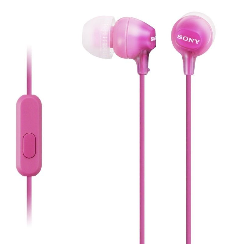 Click to view product details and reviews for Sony Pink In Ear Lightweight Headphones.