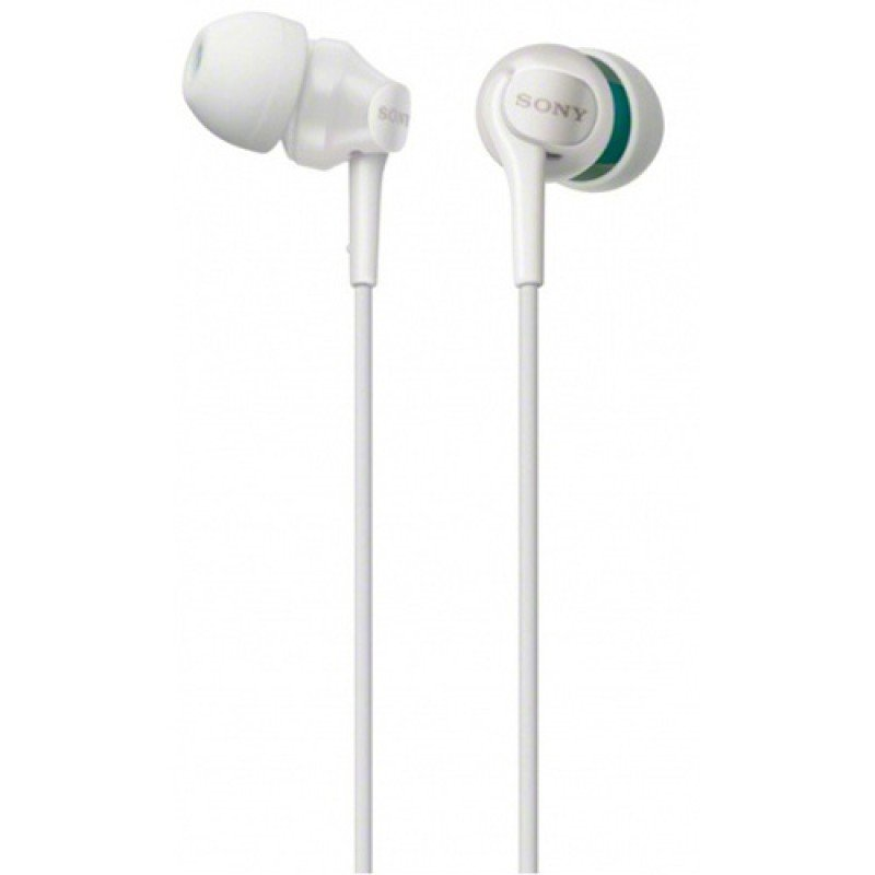Sony White Deep Bass Earphones