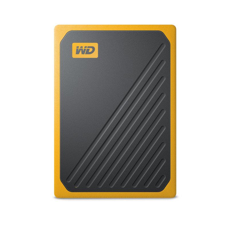 Image of WD My Passport Go 500GB Black w/ Amber trim