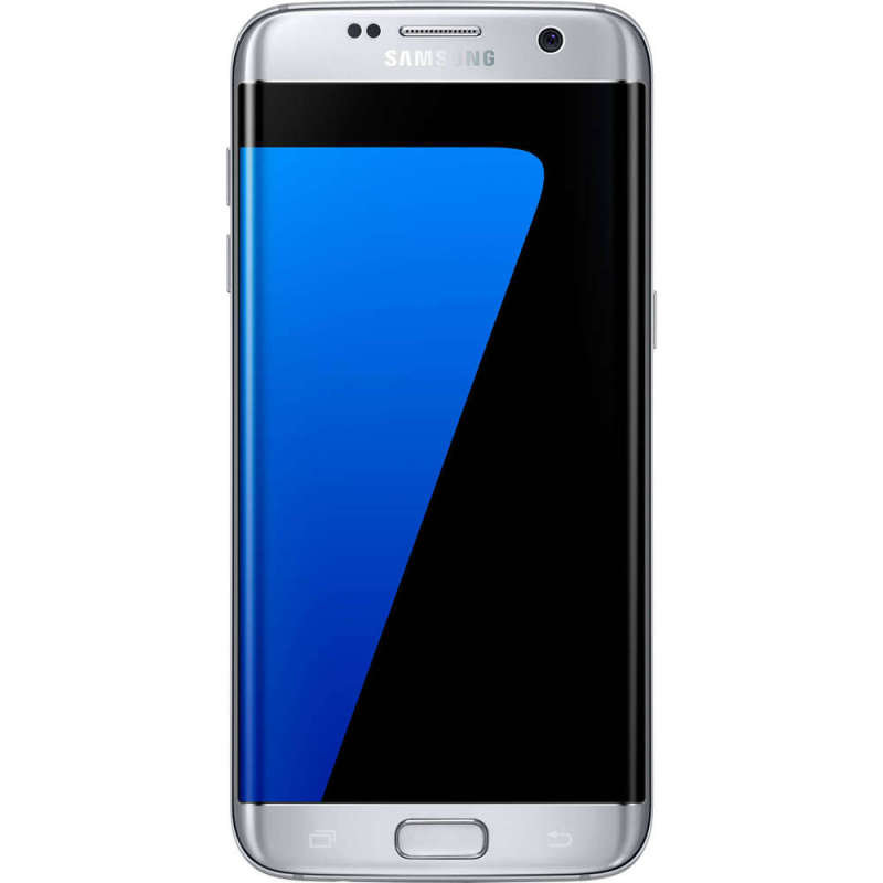 "Samsung Galaxy S7 Edge 5.5"" 4GB 32GB - Silver, Premium Refurbished (as new) - Sim Free & Unlocked"