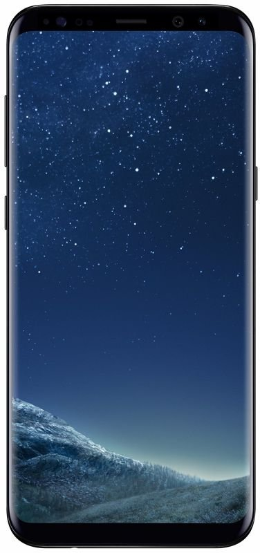 "Samsung Galaxy S8+ 6.2"" 4GB 64GB Smartphone - Black, Premium Refurbished (as new) - Sim Free & Unlocked"