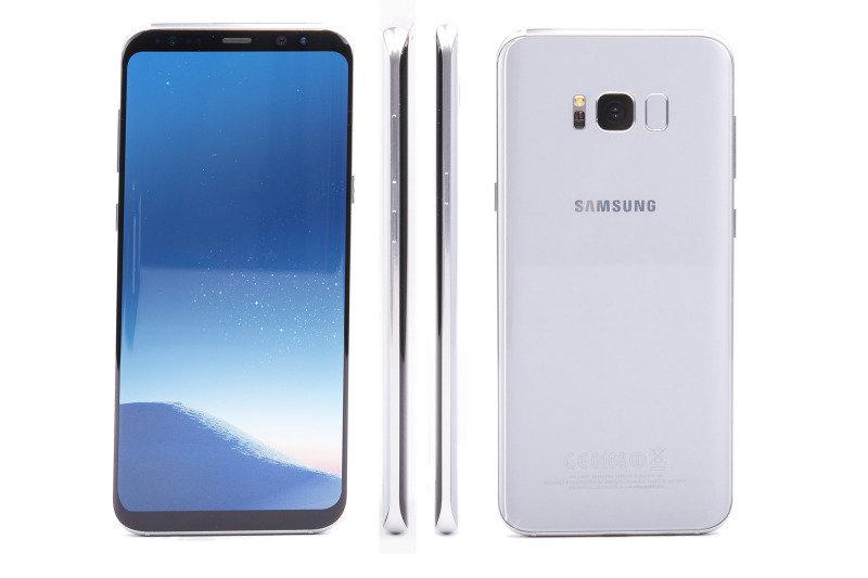 "Samsung Galaxy S8+ 6.2"" 4GB 64GB Smartphone - Silver, Premium Refurbished (as new) - Sim Free & Unlocked"