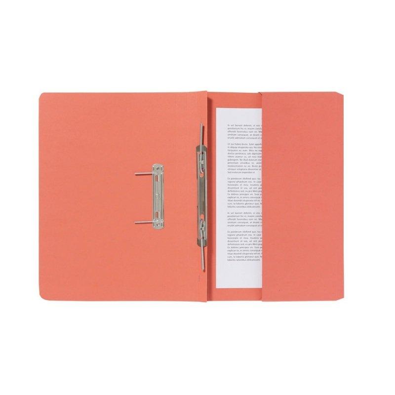 Guildhall Orange Pocket Spiral File (Pack of 25)