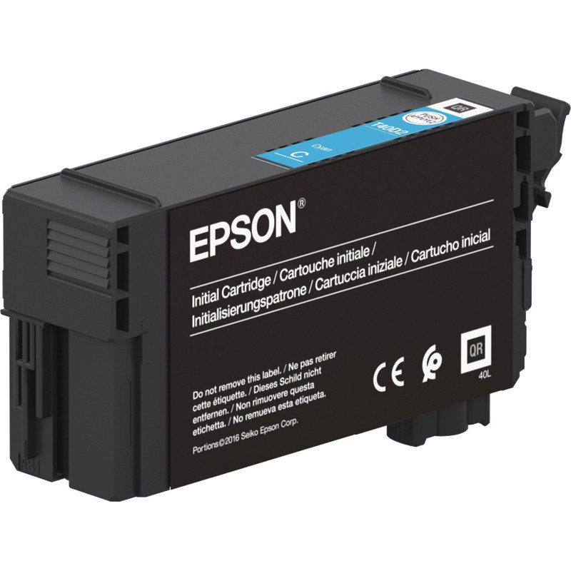 Epson XD2 Cyan UltraChrome Ink Cartridge - Standard Yield 26ml