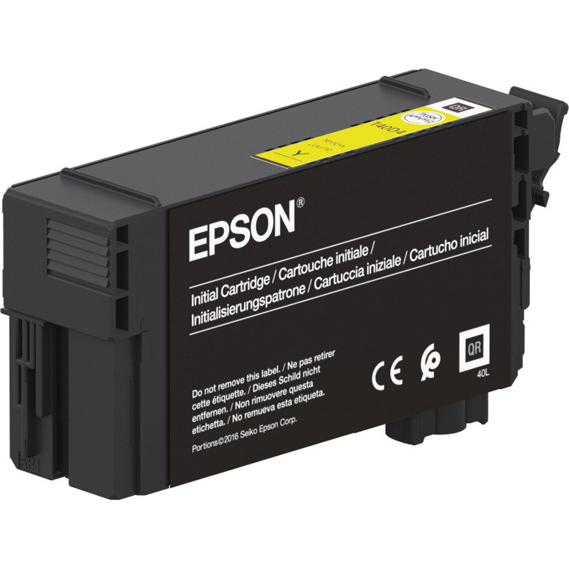 Epson XD2 Yellow UltraChrome Ink Cartridge - High Yield - 50ml