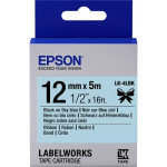 Epson Tape/LK-4LBK Satin 12mm 5m Black/SkyBlue