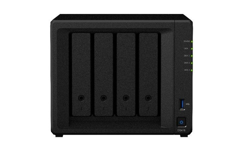 Synology DS418 24TB (4 x 6TB WD RED) 4 Bay Desktop NAS Unit