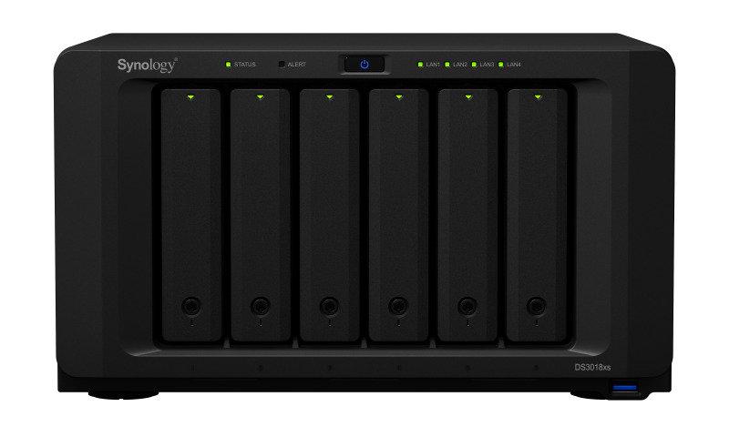 Synology DS3018xs 24TB (6 x 4TB WD RED) 6 Bay Desktop NAS Unit
