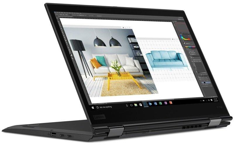 "Lenovo ThinkPad X1 Yoga (3rd Gen) 2-in-1 Laptop, Intel Core i7-8550U 1.8GHz, 8GB RAM, 256GB SSD, 14"" Touch, No-DVD, Intel UHD, WIFI, Windows 10 Pro"