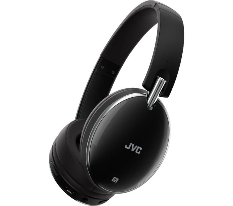 Click to view product details and reviews for Jvc Wireless Bluetooth Black Premium Noise Cancelling Headphones.