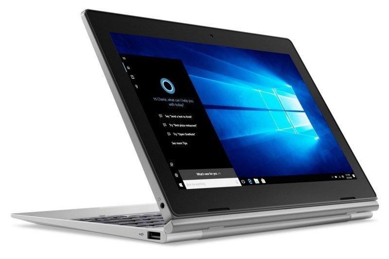 "Lenovo D330-10IGM 81MD Intel Celeron, 10.1"", 4GB RAM, 64GB eMMC, Windows 10, Tablet - Gray"