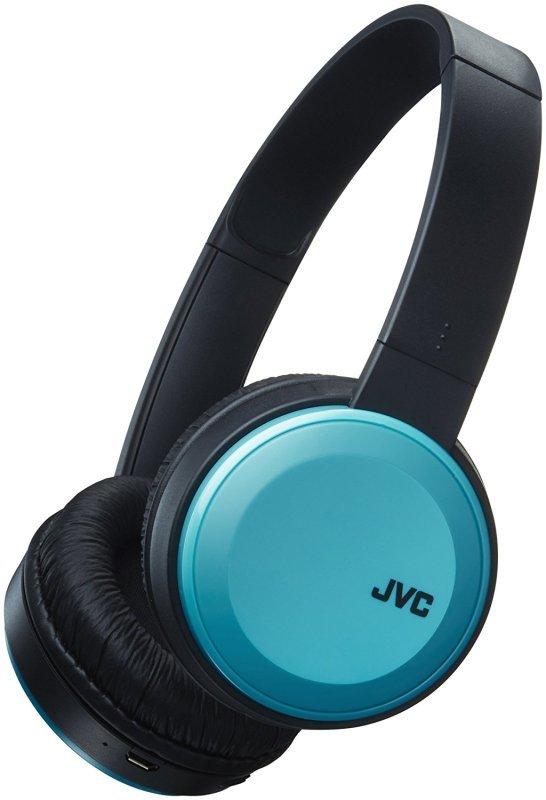 JVC Deep Bass Wireless Blue On Ear Headphones