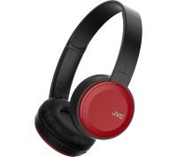 JVC Deep Bass Wireless Red On Ear Headphones