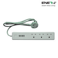 Ener-J Wifi UK Power Extension Strip